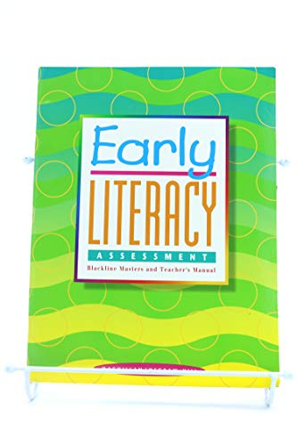 Early Literacy Assessment Blackline Masters and Teacher's: Macmillan/ Mcgraw-Hill