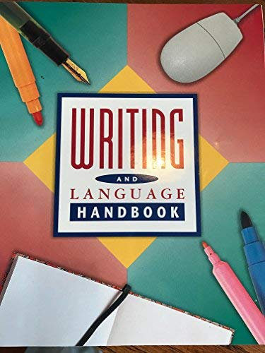 9780021814688: SPOTLIGHT ON LITERATURE WRITING AND LANGUAGE HANDBOOK (P)