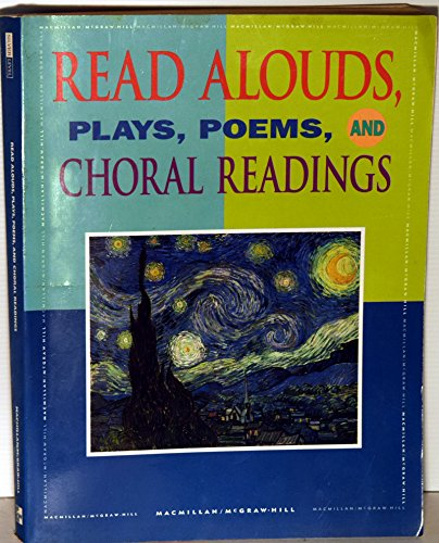 9780021814992: Read Alouds, Plays, Poems, and Choral Readings
