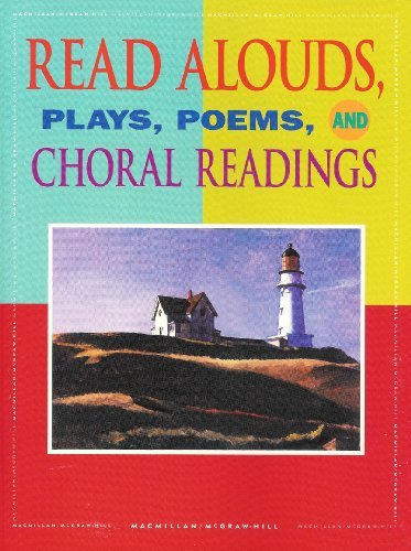 9780021815005: Read Alouds Plays Poems and Choral Readings Grade 8 Gold Level (Spotlight On Literature)