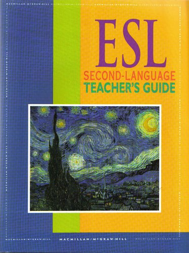 9780021815050: ESL Second Language Teachers Guide (Spotlight on Literature, Silver Level)