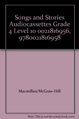 Spotlight On Literacy-Songs And Stories, Grade 4, Level 10: Audiocassettes Program-Packaged Set (...