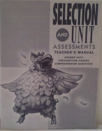 9780021823833: Spotlight on Literacy, Grade 3, Levels 8-9, Selection & Unit Assessments Teacher's Manual, Answer Keys, Prescription Charts, Comprehension Questions (Paperback)