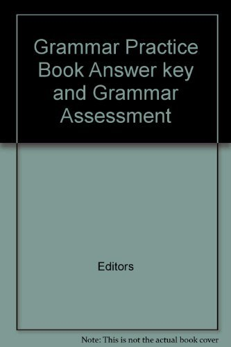 9780021832545: Spotlight on Literacy Grammar Practice Book: Answer Key and Grammar Assessment (Grade 6, Level 12)