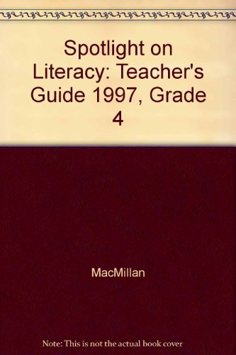 9780021835867: Teacher's Guide for Spotlight Books-Grade 4