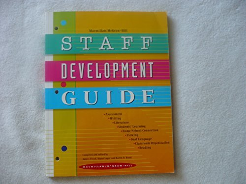 9780021840571: Staff Development Guide