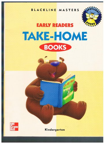 9780021845637: Early Readers Take Home Books (Kindergarten) (Blackline Masters)