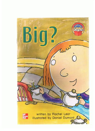 9780021849789: Big? (Leveled books)