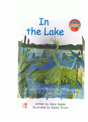 9780021849840: In the lake (Leveled books)