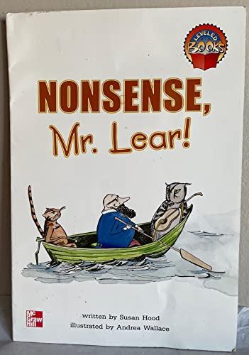 9780021852475: Nonsense, Mr. Lear! (McGraw-Hill reading)