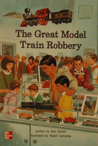9780021852901: The great model train robbery (Leveled books [5])
