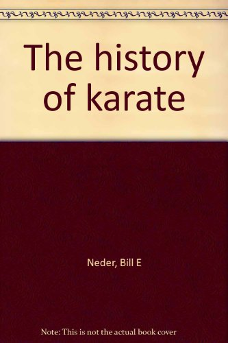 9780021853403: The history of karate