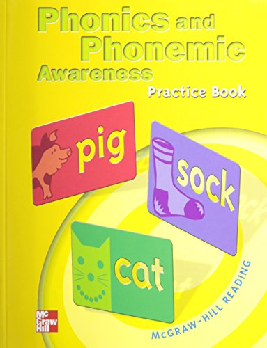 9780021855568: McGraw Hill Reading Phonics And Phonemic Awareness Practice Book
