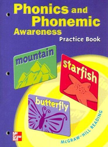 9780021855599: McGraw-Hill Reading Phonics and Phonemic Awareness Practice Book Grade 4