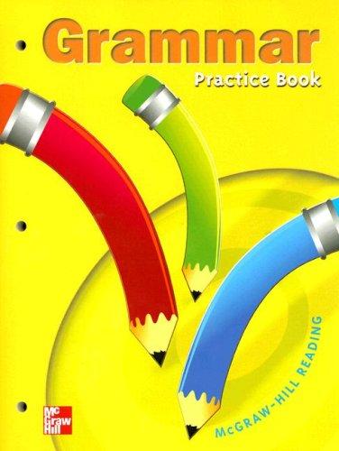 9780021856442: Grammar Practice Book Grade 1: Grammar Practice Book