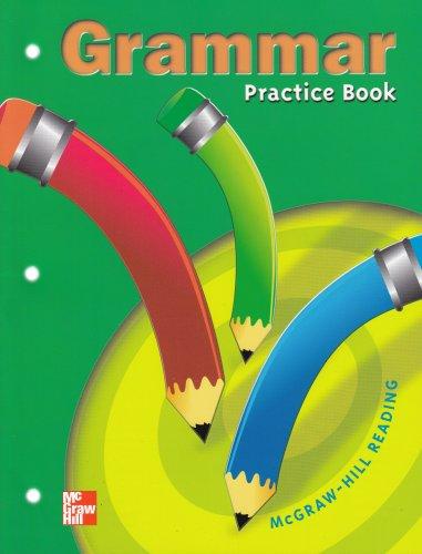 9780021856466: Grammar: Practice Book : McGraw-Hill Reading Grade 3