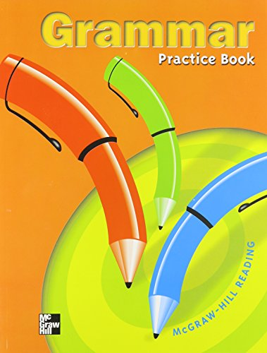 9780021856480: Grammar Practice Book: Grade 5 (Mcgraw-Hill Reading)
