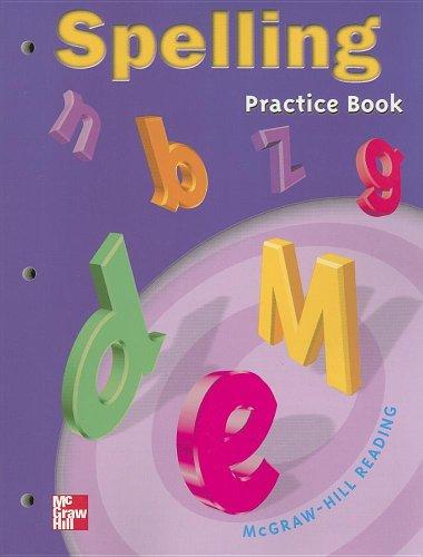 9780021856541: Spelling Practice Book