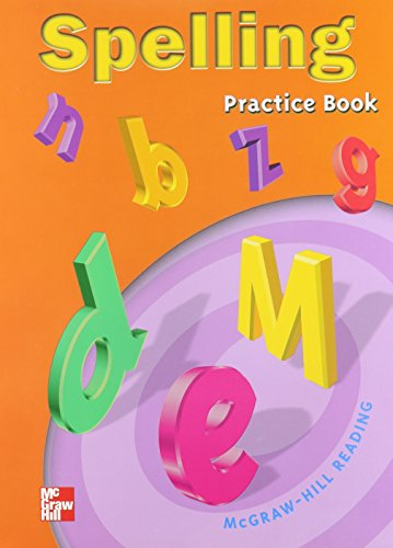9780021856848: Spelling Practice Book: Grade 5 (Mcgraw-Hill Reading)