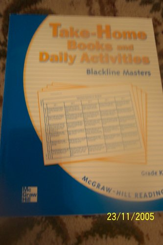 9780021891832: Take-home Books and Daily Activities (MCGraw Hill Reading, grade K)