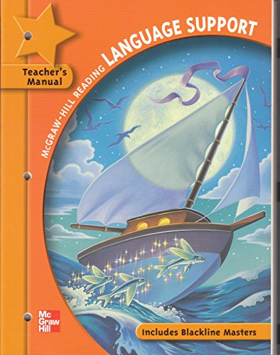 9780021892365: Language Support: Grade 5: Includes Blackline Masters: Teacher's Manual (McGraw-Hill Reading)