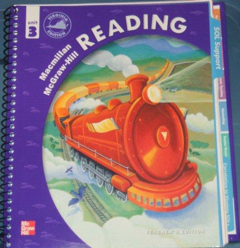 9780021901197: Macmillan McGraw-Hill Reading Unit 3, Grade 4 Teacher's Edition (Virginia Edition)