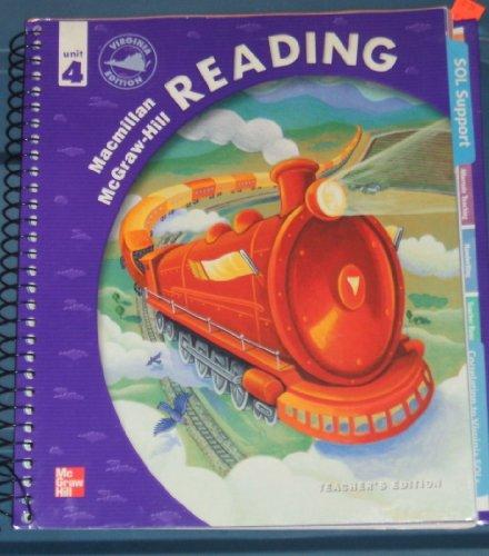 9780021901210: Macmillan McGraw-Hill Reading Unit 4, Grade 4 Teacher's Edition (Virginia Edition)