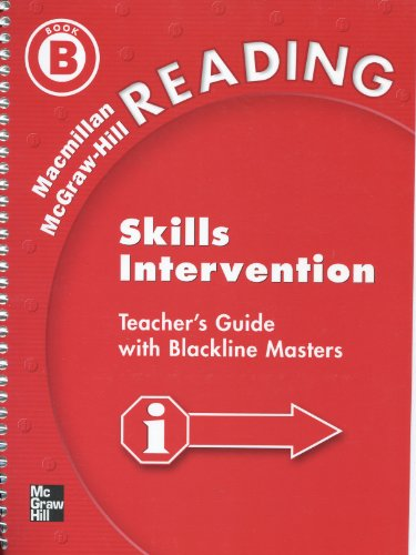 Macmillan McGraw Hill Reading (Skills Intervention, Book B, Gr 3/4): unknown, unknown
