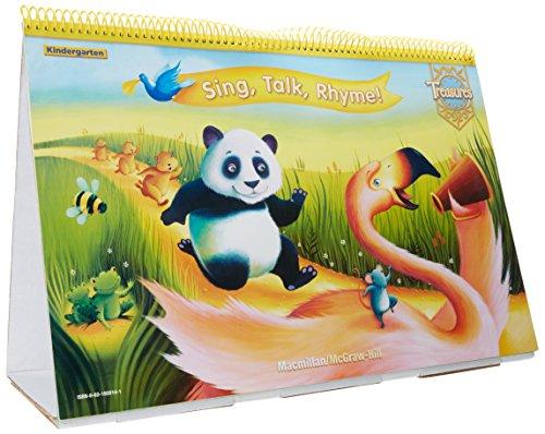9780021920143: Sing, Talk, Rhyme - Kindergarten Giant Flip Chart