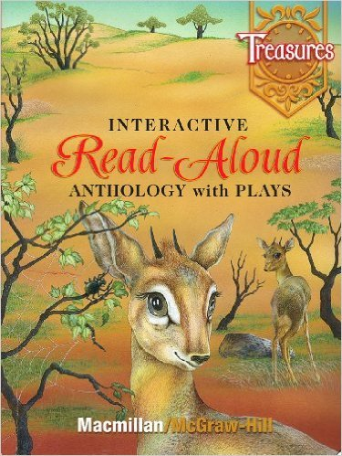 9780021920242: Interactive Read Aloud Anthology with Plays Grade 1 (Treasures)