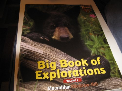 9780021921928: Treasures, Big Book of Explorations, Volume 2