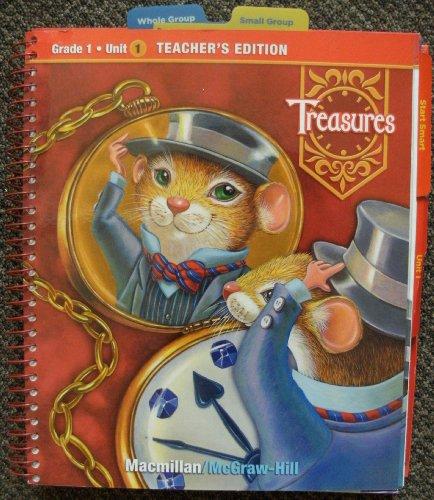 9780021923267: McGraw-Hill Treasures: A Reading/language Arts Program, Grade 1, Unit 1, Teacher's Edition