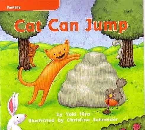 9780021923335: Cat Can Jump - Fantasy, GR B Benchmark 2 Lexile 20 1.1 Week 1