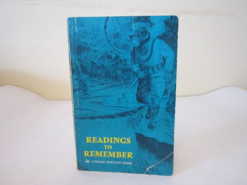 9780021924608: Readings to Remember (Literary Heritage Series)