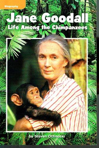 9780021928781: Jane Goodall - Life Among the Chimpanzees (Biography)