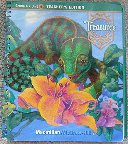9780021929177: A Reading / Language Arts Program Treasures Grade 4 Unit 4 Teachers Edition (Grade 4 Unit 4 Teachers Edition )