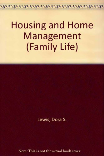 9780021933600: Housing and Home Management (Family Life)