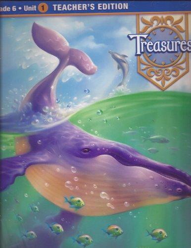 9780021933945: Treasures: A Reading/Language Arts Program, Grade 6, Unit 1 (Teacher's Edition)