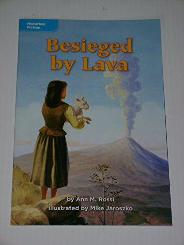 9780021934669: Besieged by Lava (Historical Fiction; Volcanoes, Past &Present)