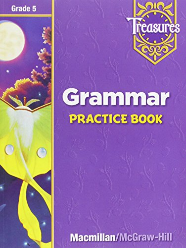 9780021936045: Treasures Grammar Practice Book, Grade 5