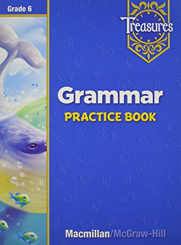 9780021936052: Treasures Grammar Practice Book: Grade 6