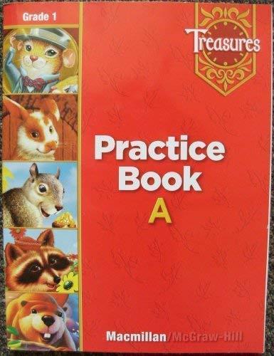 9780021936137: Treasures: Spelling Practice Book, Grade 1 --2006 publication.