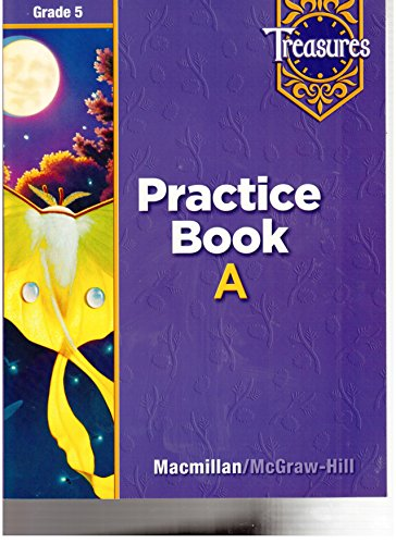 9780021936175: Practice Book A (Treasures Grade 5) (Treasures 5th Grade)