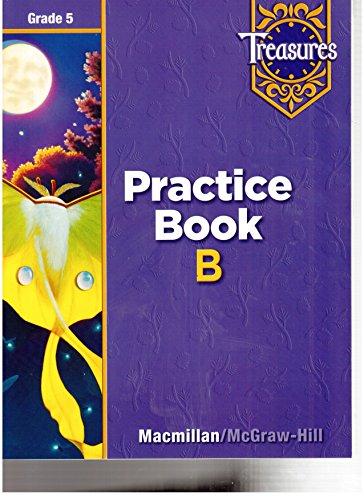 9780021936250: Treasures Practice Book B Grade 5