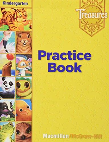 Treasures Practice Book Kindergarten Level