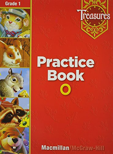 9780021936281: Treasures Practice Book O: Grade 1