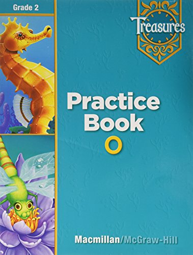9780021936298: Treasures a Reading/Language Art Program Grade 2 Practice Book O, Blackline Masters: On Level
