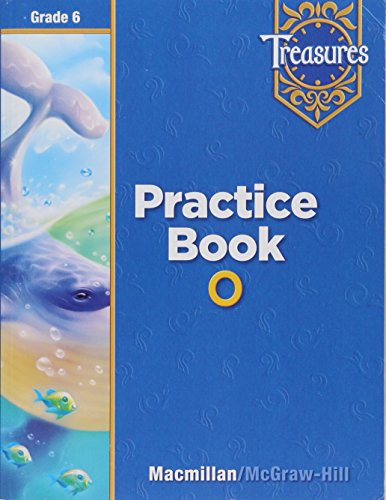9780021936342: Treasures Practice Book O Grade 6 (Treasures)