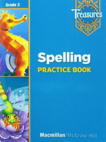 9780021936359: Treasures: A Reading/Language Arts Program, Grade 2, Spelling Practice Book