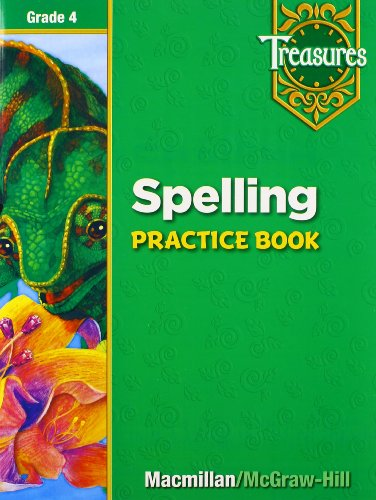 9780021936373: Spelling Practice Book: Grade 4 (Treasures)